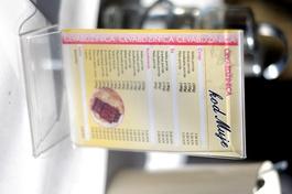 On connaît les noms des plats, mais impossible d'en avoir les recettes...