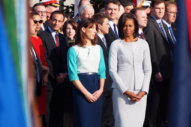 During an official US state visit