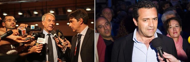 """Il primo ha annunciato una giunta alla Zapatero (metà donne e metà uomini), il secondo ha promesso: """"Napoli sarà liberata dalla camorra"""""""