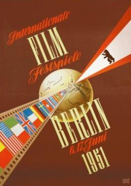 Affiche de la première Berlinale