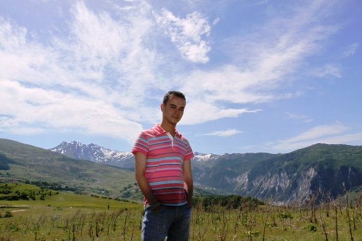 By the Dinaric Alps, northern Albania