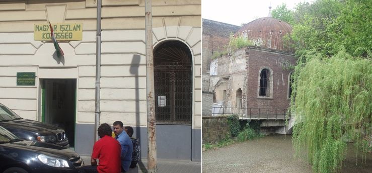 (R) An original Turkish bath that stands only as a monument today in Budapest
