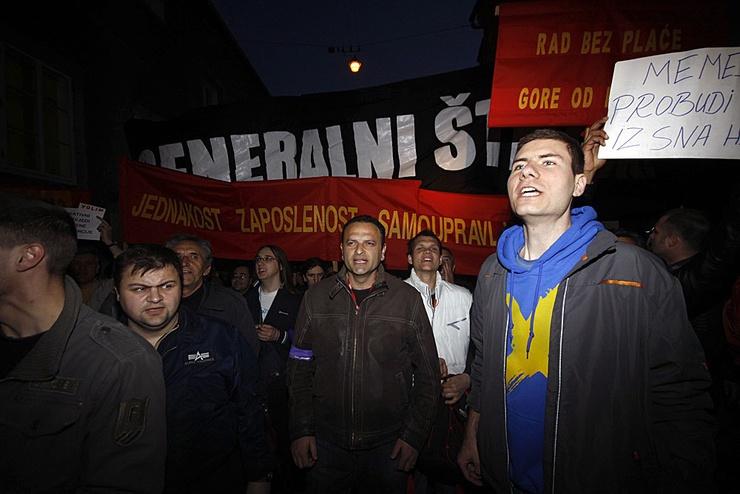 Die Studenten rechtfertigen ihren Aufmarsch in den Straßen Zagrebs