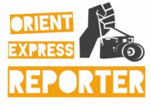 logo orient express reporter cafebabel