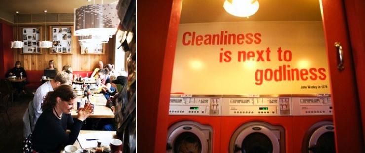 Caffé-lavanderia a Copenaghen