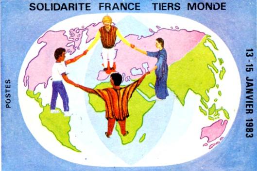 ...Un conte pour enfants ? Ici, un timbre poste de la République Togolaise en 1983