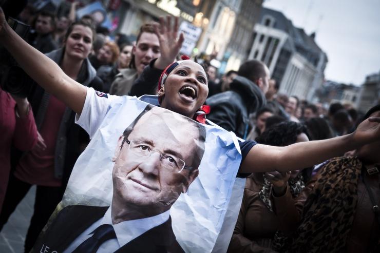 Seit 2013 neuer 'sozialistischer' Präsident Frankreichs