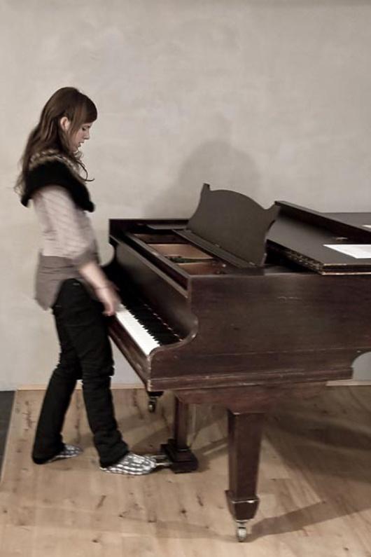 """""""Ma vie a toujours été bercée par la musique"""" nous livre-t-elle"""