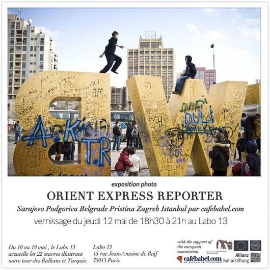 Orient Express Reporter © photo Ezequiel Scagnetti et visuel Cédric Audinot