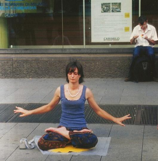 Chi ha detto che qui è impossibile meditare?