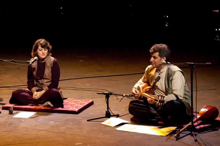 The Iranian plays Tar, Setar and Gharibaneh