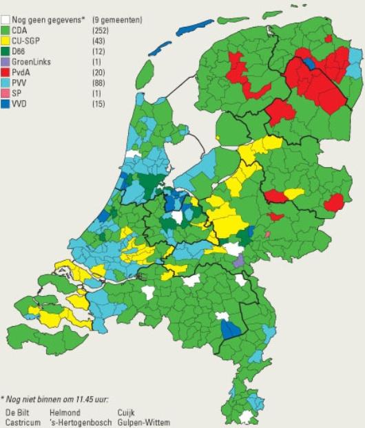Imagen, Gobierno de Holanda