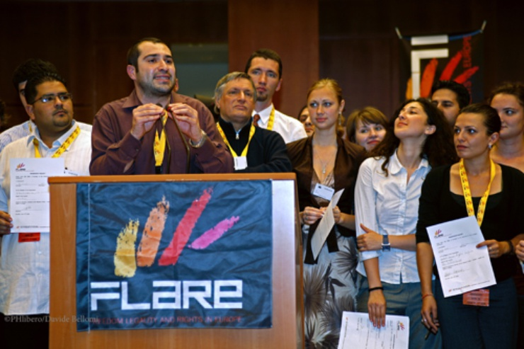 The organisation was founded in 2008 by the 'Libera' and 'Terra del Fuoco' associations