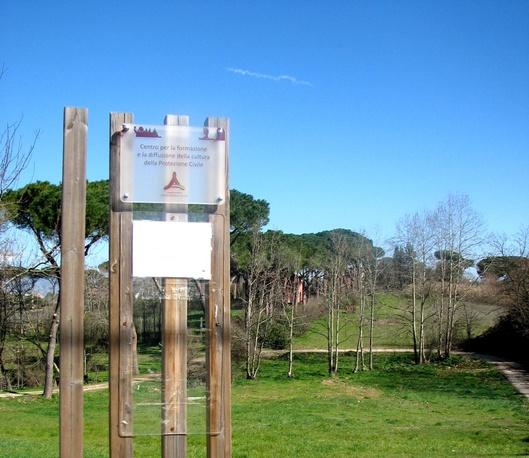 Loin des embouteillages de Rome, la sérénité de l'éco-centre culturel situé en périphérie