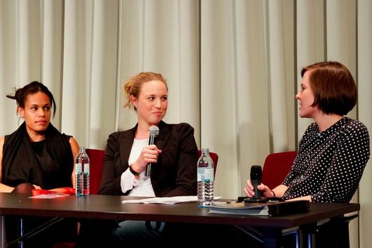 Mahret Kupka, Julia Knolle und Mary Scherpe