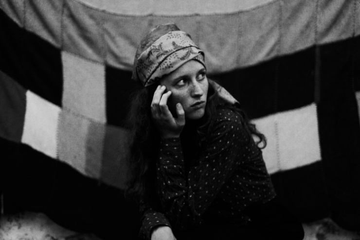 Image from 'Gipsy' series photographer by Schanti's partner