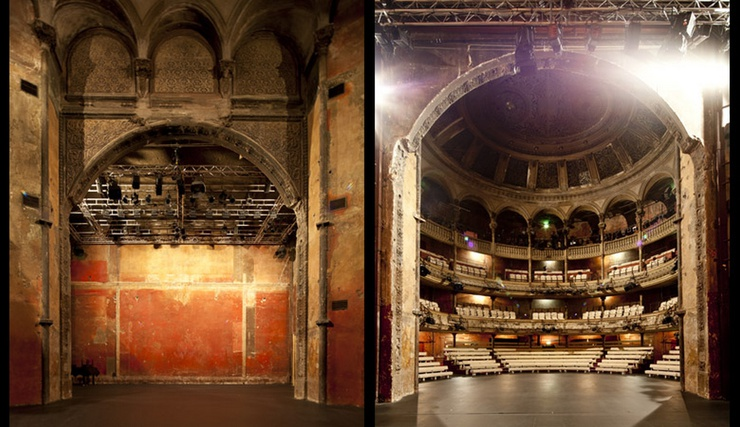 British director Peter Brook saved this magnificent theatre
