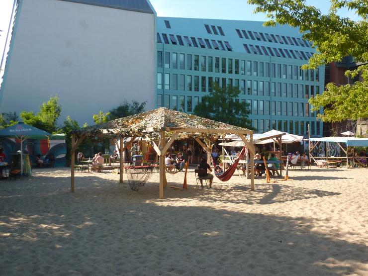 Yaam beach bar