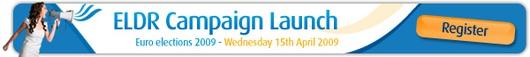 ELDR campaign launch banner