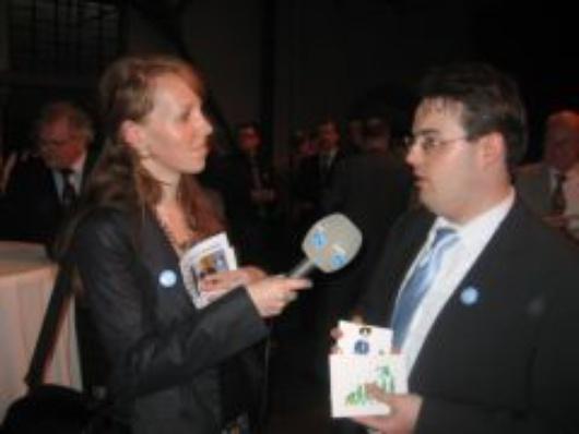 ELDR campaign launch reporters