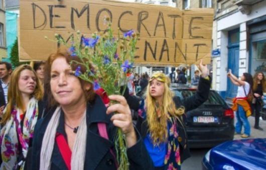 indignados Brussels