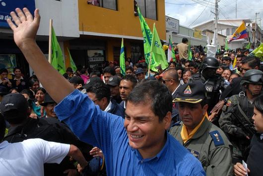 Foto, Presidencia de la República de Ecuador / Flickr