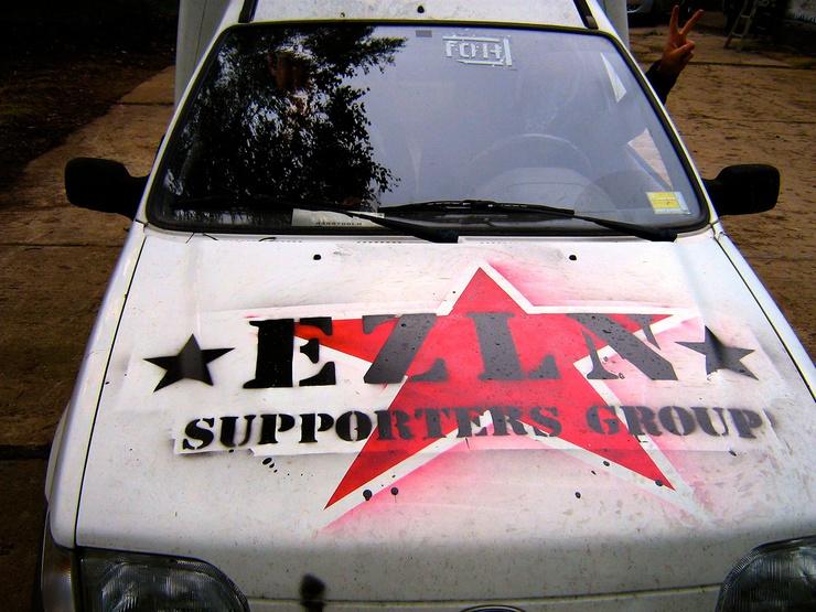 ELZN (Esercito zapatista di liberazione nazionale, Zapatistische Armee der Nationalen Befreiung)