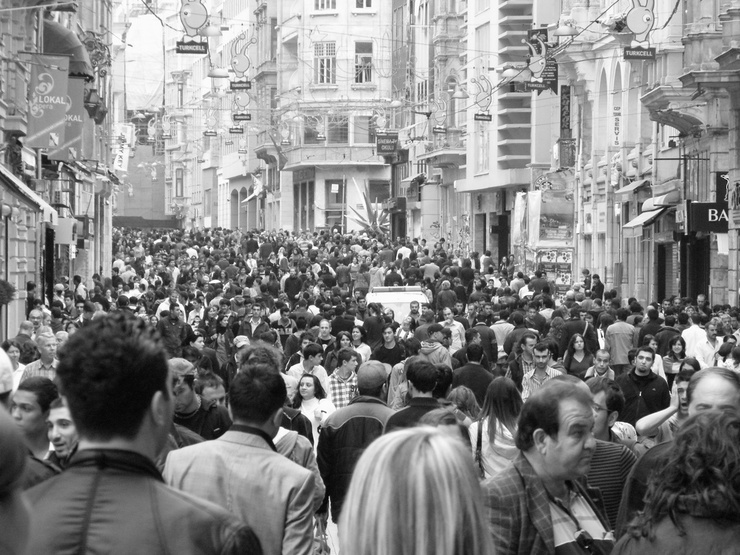 Istiklal Caddesi or 'Independence Avenue'