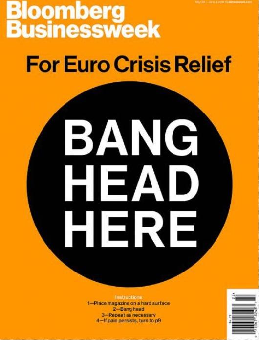 Das Cover der dieswöchigen Ausgabe der Bloomberg Businessnews soll Abhilfe schaffen