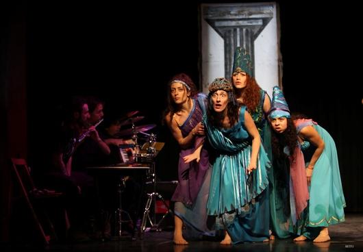 El grupo participó en el Encuentro Europeo de Teatro y Prisión celebrado en la capital alemana en el año 2000
