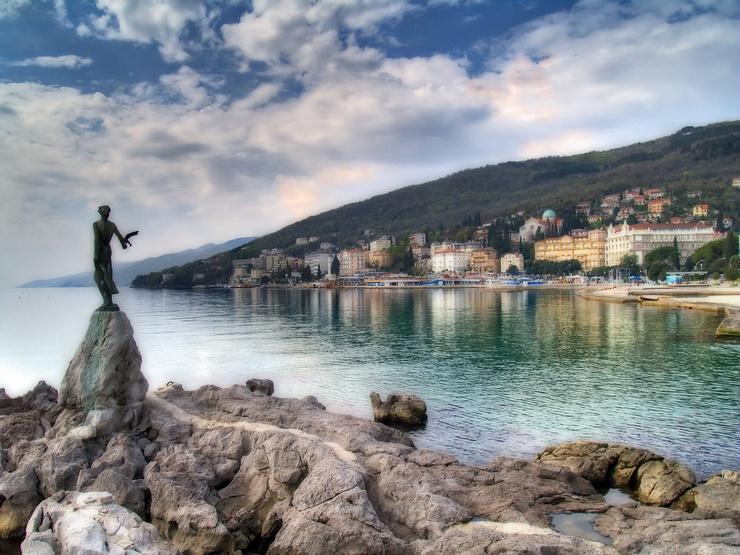 Opatija / Croatie | L'UE entendra-t-elle les sirènes de la Croatie ? | Paco CT/flickr