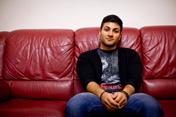 The 19-year-old sees Italy as a 'backward' country