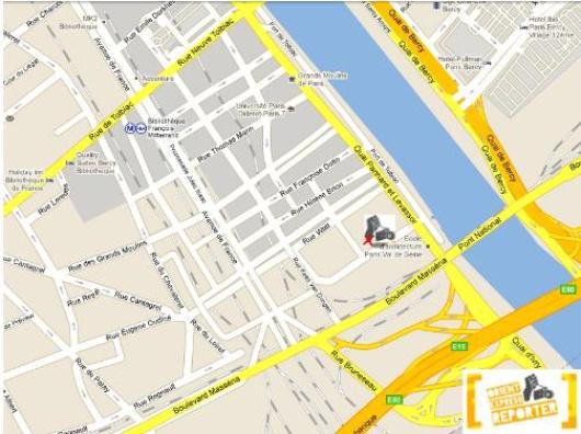 Labo 13 google maps
