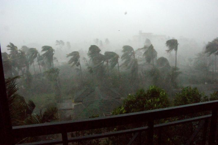 Efectos del ciclón Nargis en Birmania (Foto: Azmil77/ Flickr)
