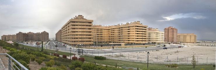 Blocks of flats in Seseña, Toledo