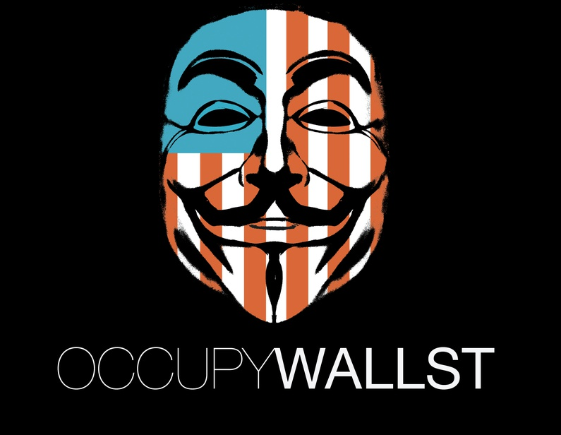 Guy Fawkes has become a symbol for the 'occupy wall street' movement