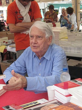 In 2009, Montpellier, at a book signing