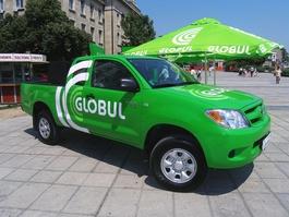Así se ve el gigante verde de las telecomunicaciones Globul