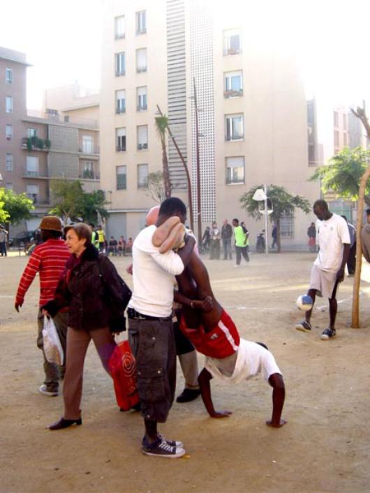 El 40% de los habitantes de Ciutat Meridiana son inmigrantes