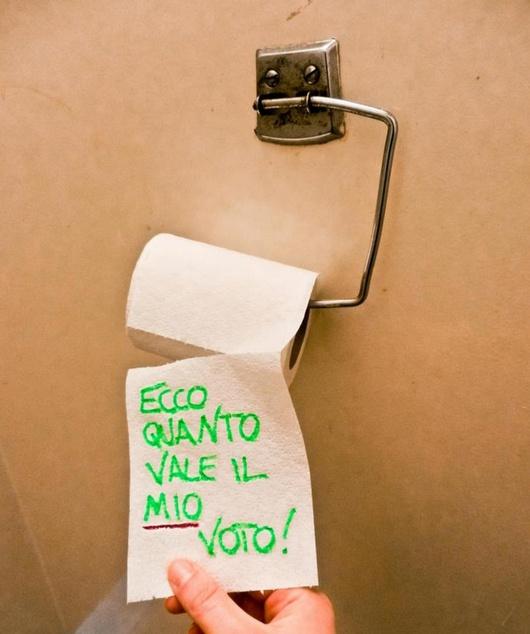 Esto es lo que vale el voto de los erasmus italianos.