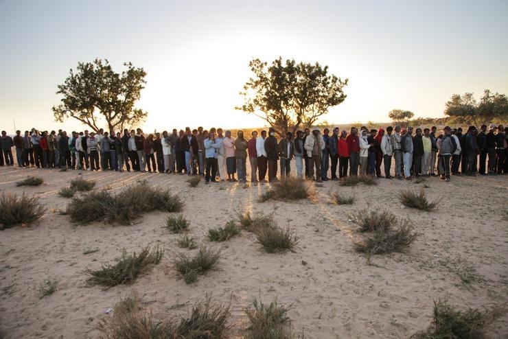 Ils sont 204 751 selon le HCR a avoir traversé la frontière depuis le début du conflit en Libye