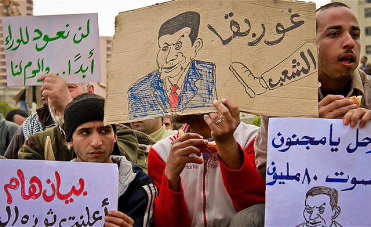 La rivoluzione è stata una come una valanga di neve, veicolata dai social network e da Al Jazeera