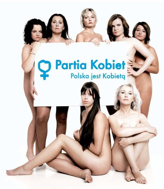 Cartel de el Partido de las Mujeres polaco (2007)