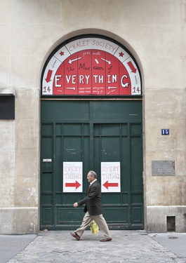 The Museum of Everything resterà a Parigi sino al 16 dicembre.