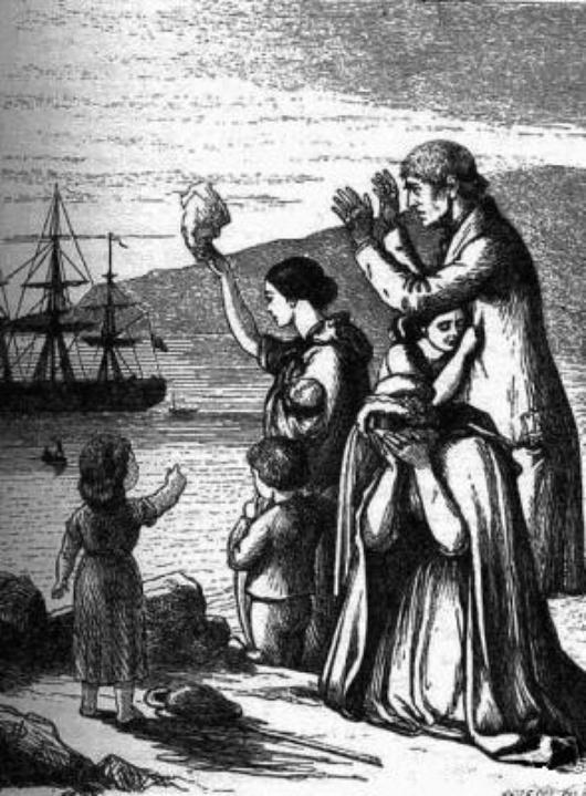"""Mary Frances Cusack, illustriert von Henry Doyle, gescannt als 001.jpg, entnommen dem """"Projekt Gutenberg"""" (1868)"""
