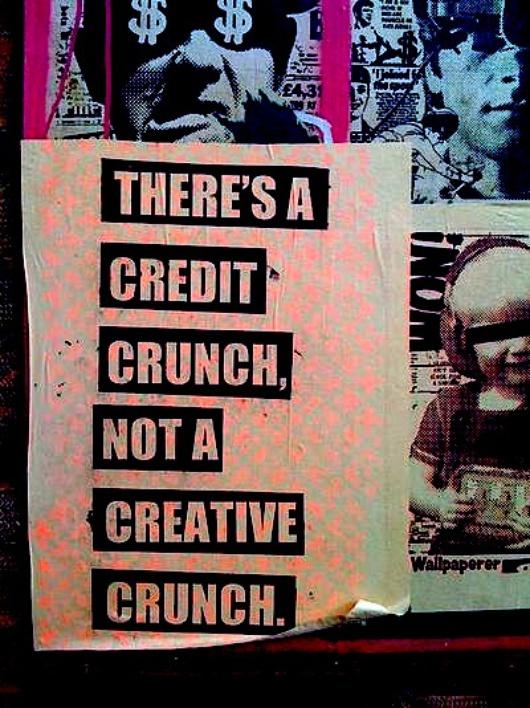 """""""To, z czym mamy do czynienia, to zapaść systemu kredytowego, a nie kreatywności""""."""