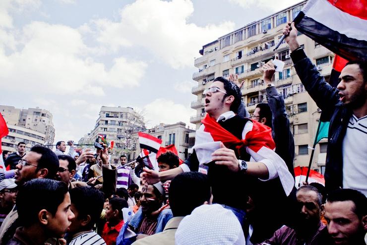 Los jóvenes egipcios siguen saliendo a la calle para defender la revolución