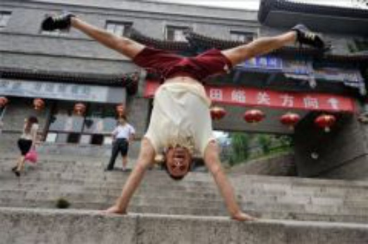Róbert Gál in Beijing, Source: fn.hu (MTI)