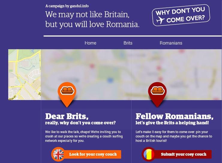 Rumänien kontert mit Humor