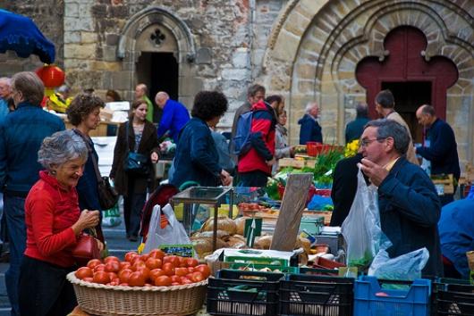 marché cahors fruits légumes